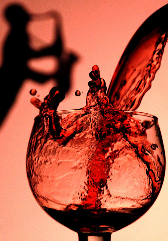 Wine Glass - Commercial Photography