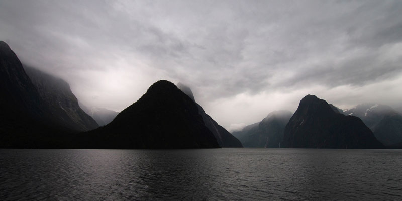 The Milford Sound - South Island New Zealand